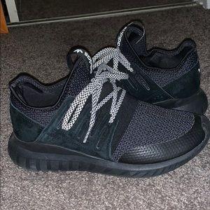 Black adidas tubular